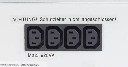 Labor-Trenntrafo Festspannung Thalheimer ERT 230/230/2G 460 VA Anzahl Ausgänge: 4 x 230 V/AC Kalibriert nach Werksstanda