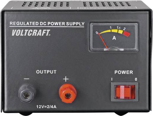 VOLTCRAFT FSP-1122 Labornetzgerät, Festspannung 12 V/DC 2 A 25 W Anzahl Ausgänge 1 x Kalibriert nach DAkkS