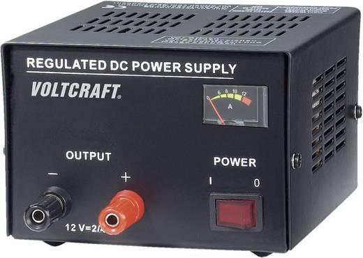 VOLTCRAFT FSP-1122 Labornetzgerät, Festspannung 12 V/DC 2 A 25 W Anzahl Ausgänge 1 x Kalibriert nach ISO