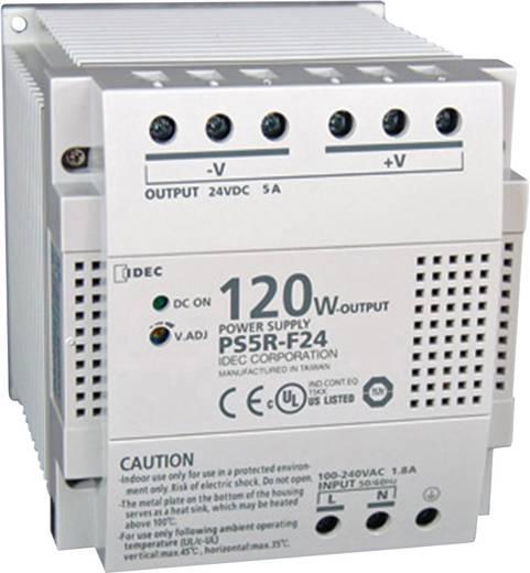 Hutschienen-Netzteil (DIN-Rail) Idec PS5R-F24 24 V/DC 5 A 120 W 1 x