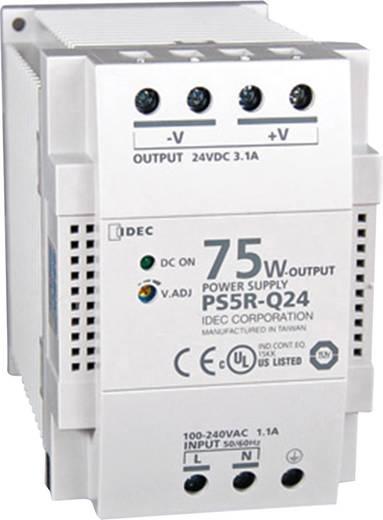 Hutschienen-Netzteil (DIN-Rail) Idec PS5R-Q24 24 V/DC 3.1 A 75 W 1 x