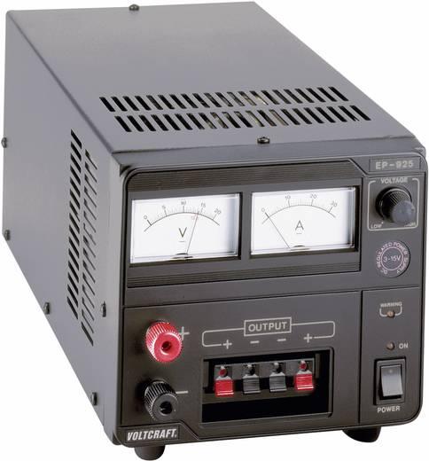 Labornetzgerät, einstellbar VOLTCRAFT EP-925 3 - 15 V/DC 2 - 25 A 375 W Anzahl Ausgänge 1 x Kalibriert nach DAkkS