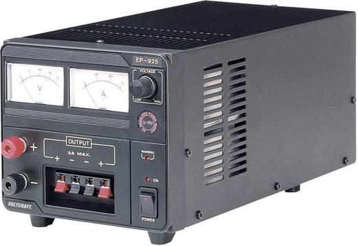 Labornetzgerät, einstellbar VOLTCRAFT EP-925 3 - 15 V/DC 2 - 25 A 375 W Anzahl Ausgänge 1 x Kalibriert nach ISO