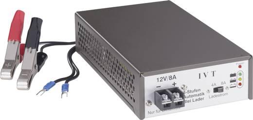 IVT Bleiakku-Ladegerät 3STEP 12V/4A/8A 12 V Blei-Säure, Blei-Gel, Blei-Vlies