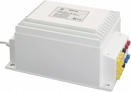 Kompaktnetzteil Transformator 1 x 230 V 1 x 0 V, 6 V/AC, 15 V/AC, 18 V/AC, 21 V/AC, 24 V/AC, 27 V/AC, 30 V/AC 300 VA, 240 W 10 A NGE300 Weiss Elektrotechnik