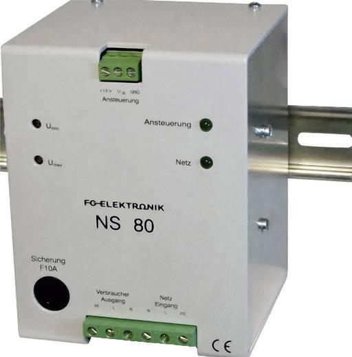 FG Elektronik NS 80 Einbau-Dimmer Wechselspannungssteller Drehzahlregler 2200 W Dimmer