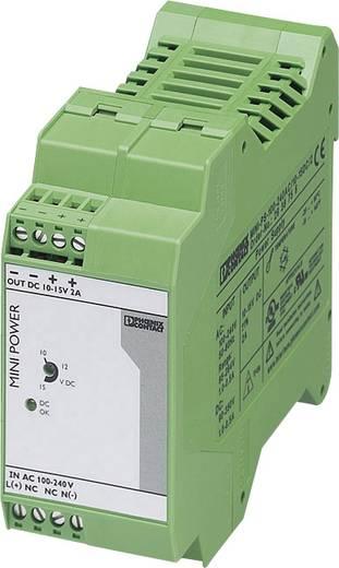 Hutschienen-Netzteil (DIN-Rail) Phoenix Contact MINI-PS-100-240AC/10-15DC/2 2 A 30 W 1 x