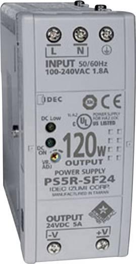 Hutschienen-Netzteil (DIN-Rail) Idec PS5R-SF24 24 V/DC 5 A 120 W 1 x