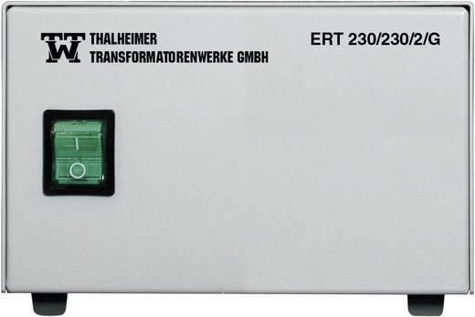 Labor-Trenntrafo Festspannung Thalheimer ERT 230/230/1G 230 VA Anzahl Ausgänge: 4 x 230 V/AC Kalibriert nach DAkkS