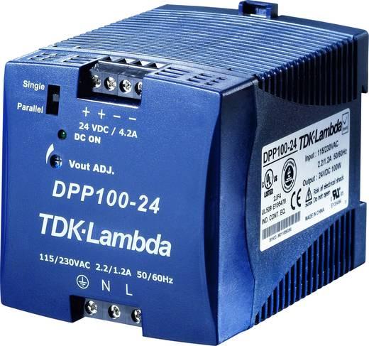 TDK-Lambda DPP-100-24 Hutschienen-Netzteil (DIN-Rail) 24 V/DC 4.2 A 100 W 1 x