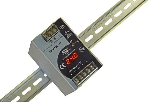 Hutschienen-Netzteil (DIN-Rail) Dehner Elektronik DRP07 2D-12FTN 12 V/DC 6 A 72 W 1 x