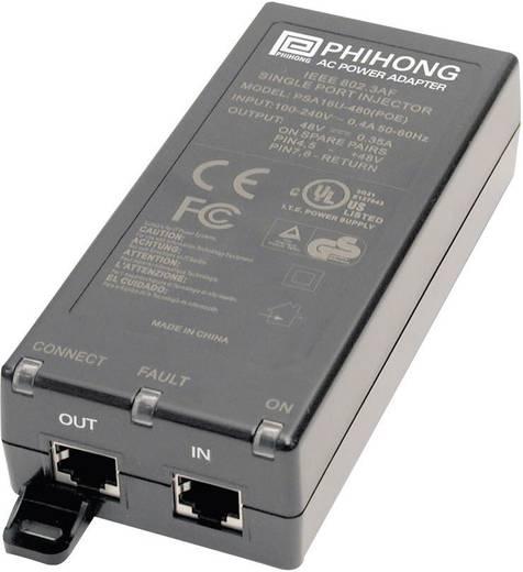 Tischnetzteil, Festspannung Phihong POE20U-560(G)-C 56 V/DC 350 mA 19.6 W