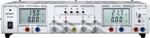 Labornetzgerät, einstellbar VOLTCRAFT VSP 2405 0.1 - 40 V/DC 0 - 5 A 409 W Anzahl Ausgänge 3 x Kalibriert nach ISO