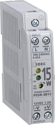 Hutschienen-Netzteil (DIN-Rail) Idec PS5R-SB12 12 V/DC 1.2 A 14.4 W 1 x