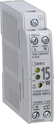 Hutschienen-Netzteil (DIN-Rail) Idec PS5R-SB24 24 V/DC 0.65 A 0.65 W 1 x