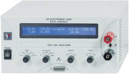 Elektronische Last EA Elektro-Automatik EA-EL 3160-60 160 V/DC 60 A 400 W Werksstandard (ohne Zertifikat)