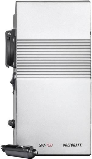 Wechselrichter VOLTCRAFT SW-150 12V 150 W 12 V/DC 12 V/DC Lüfterlos Zigarettenanzünder-Stecker Schutzkontakt-Steckdose