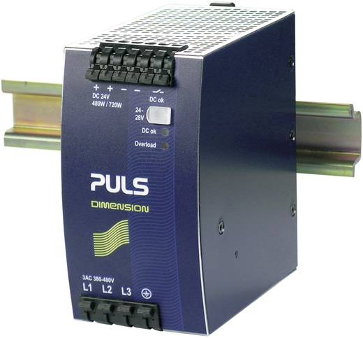 Hutschienen-Netzteil (DIN-Rail) PULS DIMENSION QT20.241 24 V/DC 20 A 480 W 1 x