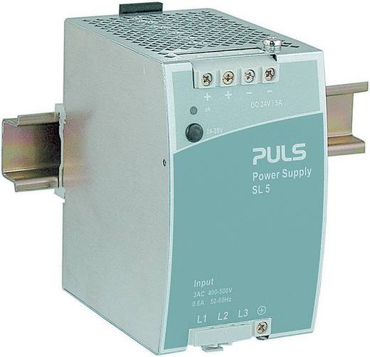 Hutschienen-Netzteil (DIN-Rail) PULS SilverLine SL5.300 24 V/DC 5 A 120 W 1 x
