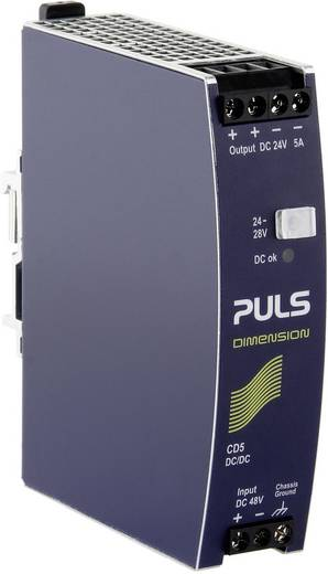 DC/DC-Wandler DIMENSION CD5.242 PULS CD5.242 5 A 120 W
