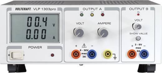 VOLTCRAFT VLP 1303pro Labornetzgerät, einstellbar 0 - 30 V/DC 0 - 3 A 102 W Anzahl Ausgänge 2 x Kalibriert nach ISO