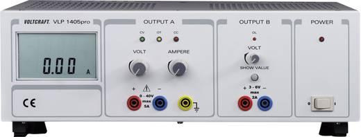 Labornetzgerät, einstellbar VOLTCRAFT VLP 1405pro 0 - 40 V/DC 0 - 5 A 212 W Anzahl Ausgänge 2 x Kalibriert nach DAkkS