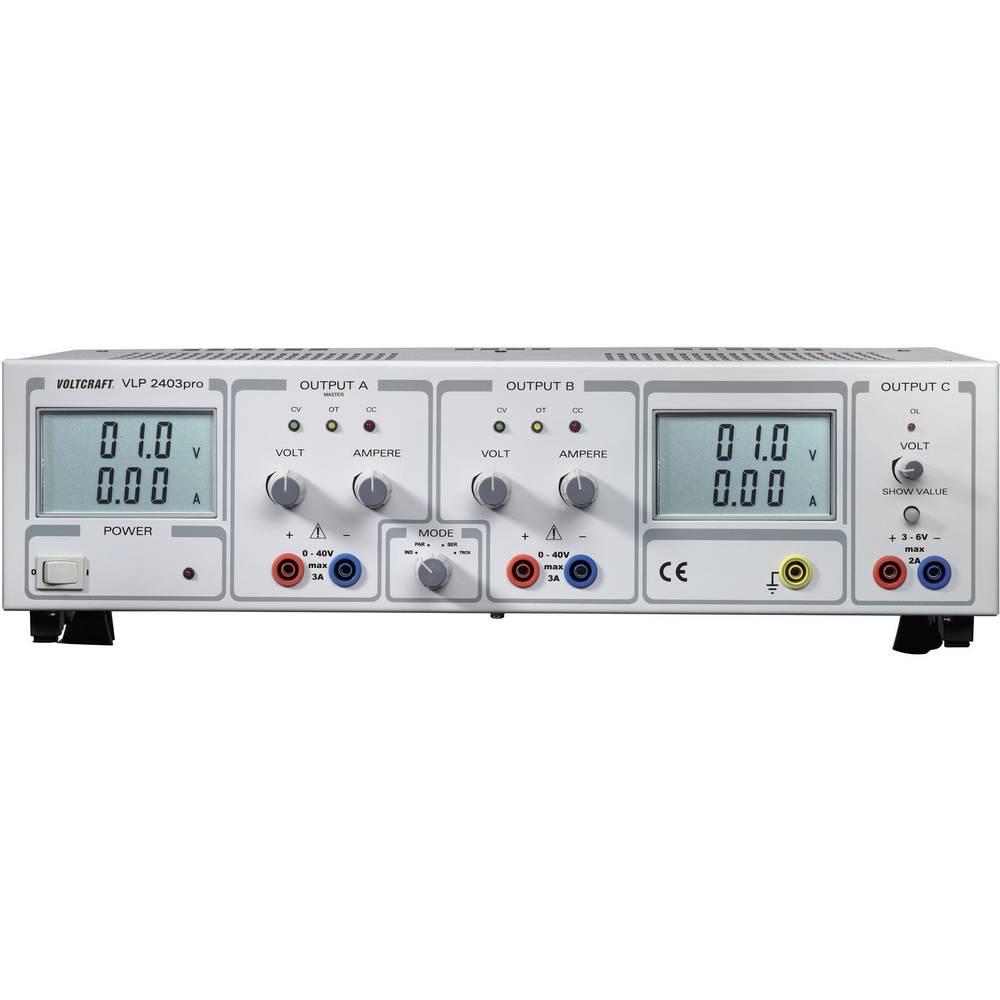 Labornetzgerät, einstellbar VOLTCRAFT VLP 2403pro 0 - 40 V/DC 0 - 3 ...