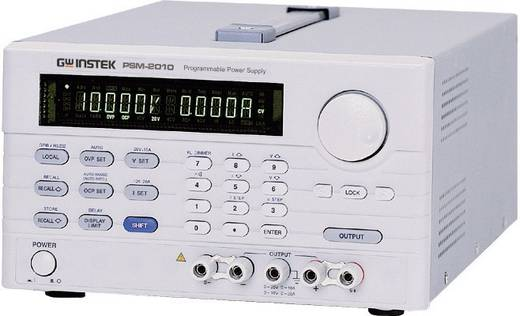 Labornetzgerät, einstellbar GW Instek PSM-6003 0 - 30 V/DC 0 - 6 A 180 W Remote Anzahl Ausgänge 2 x Kalibriert nach DAk