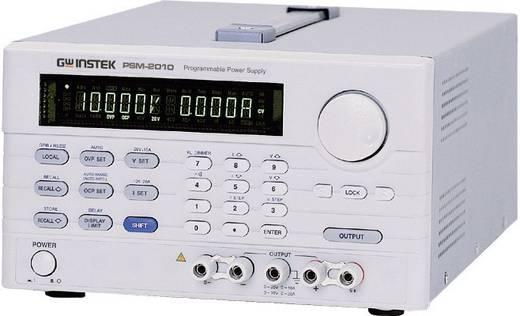 Labornetzgerät, einstellbar GW Instek PSM-6003 0 - 30 V/DC 0 - 6 A 180 W Remote Anzahl Ausgänge 2 x Kalibriert nach ISO