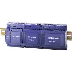 Sieťový zdroj na montážnu lištu (DIN lištu) TDK-Lambda DSP-100-15, 1 x, 15 V/DC, 5 A, 75 W