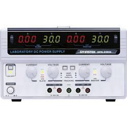 Dvojitý laboratorní zdroj GW Instek GPS-2303, 0 - 30 V/DC, 0 - 3 A, 180 W
