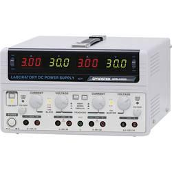 Dvojitý laboratorní zdroj GW Instek GPS-4303-E, 0 - 30 V/DC, 0 - 3 A, 200 W