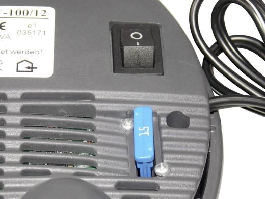 Wechselrichter VOLTCRAFT SW-100 12V 100 W 12 V/DC 11 - 15 V/DC Lüfterlos Zigarettenanzünder-Stecker
