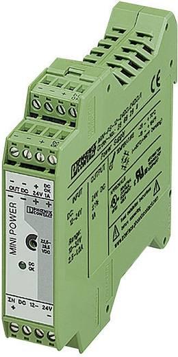 Hutschienen-Netzteil (DIN-Rail) Phoenix Contact MINI-PS-12-24 DC 24 DC/1 24 V/DC 1 A 24 W 1 x