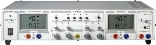 VOLTCRAFT VSP 2410 Labornetzgerät, einstellbar 0.1 - 40 V/DC 0 - 10 A 809 W Anzahl Ausgänge 3 x Kalibriert nach ISO