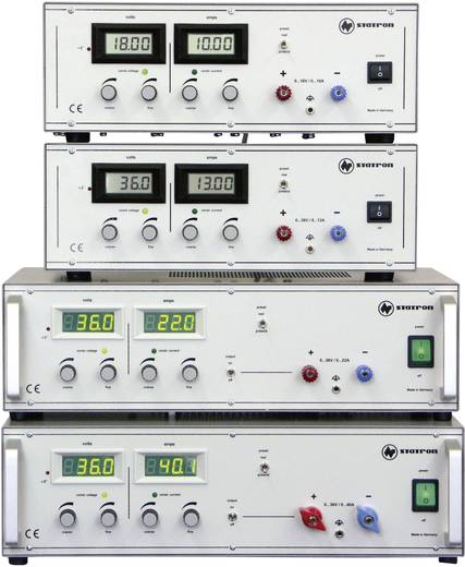 Labornetzgerät, einstellbar Statron 3254.1 0 - 36 V/DC 0 - 22 A 792 W Anzahl Ausgänge 1 x Kalibriert nach ISO