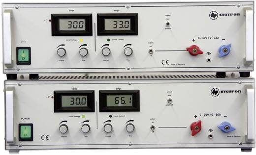 Labornetzgerät, einstellbar Statron 3654.1 0 - 30 V/DC 0 - 33 A 990 W Anzahl Ausgänge 1 x Kalibriert nach ISO
