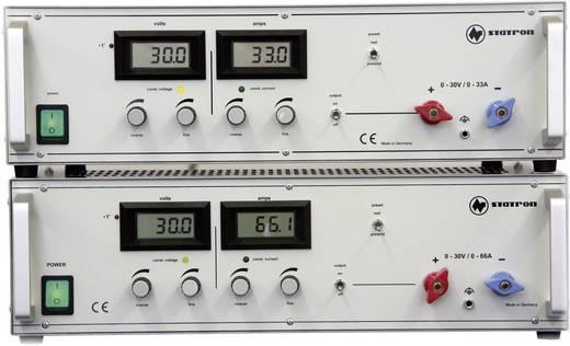 Statron 3654.1 Labornetzgerät, einstellbar 0 - 30 V/DC 0 - 33 A 990 W Anzahl Ausgänge 1 x Kalibriert nach ISO