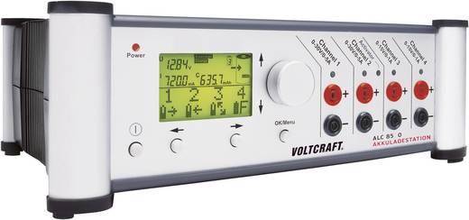 VOLTCRAFT Akkuladestation ALC 8500 Expert mit Kabelsatz Ladestation, Ladegerät ALC 8500 EXPERT für NiCd, NiMH, LiIon, Li