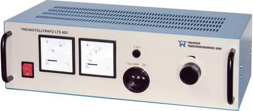 Thalheimer LTS 602 Labor-Regel-Trenn-Transformator, rackfähig 500 VA 230 V/AC, 2 - 250 V/AC Einstellbarer Trenntrafo