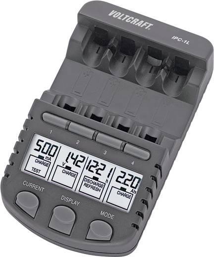 VOLTCRAFT IPC-1L Rundzellen-Ladegerät NiMH, NiCd Micro (AAA), Mignon (AA)