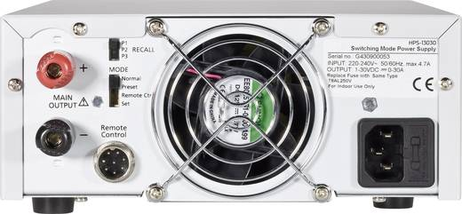 Labornetzgerät, einstellbar VOLTCRAFT HPS-13030 1 - 30 V/DC 0 - 30 A 900 W Remote Anzahl Ausgänge 1 x Kalibriert nach I