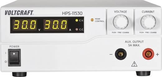 Labornetzgerät, einstellbar VOLTCRAFT HPS-11530 1 - 15 V/DC 0 - 30 A 450 W Remote Anzahl Ausgänge 1 x Kalibriert nach I