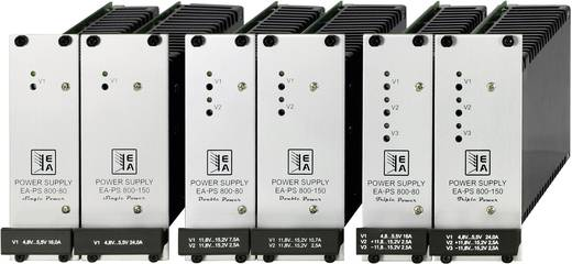 EA Elektro-Automatik EA-PS 805-12-80 Double DIN-Einschub Netzteil EA-PS 800 Serie 5 V/DC / 16 A 80 W - DAkkS kalibriert