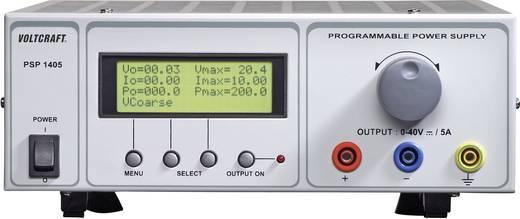 Labornetzgerät, einstellbar VOLTCRAFT PSP 1405 0 - 40 V/DC 0 - 5 A 200 W RS-232 programmierbar Anzahl Ausgänge 1 x