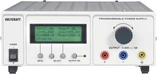 VOLTCRAFT PSP 1405 Labornetzgerät, einstellbar 0 - 40 V/DC 0 - 5 A 200 W RS-232 programmierbar Anzahl Ausgänge 1 x Kalib