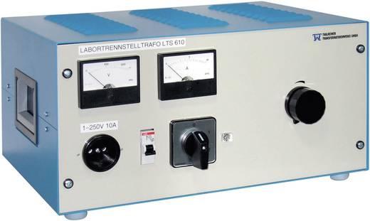 Thalheimer LTS 610 Labor-Regel-Trenn-Transformator, rackfähig 2500 VA 230 V/AC, 2 - 250 V/AC Einstellbarer Trenntrafo