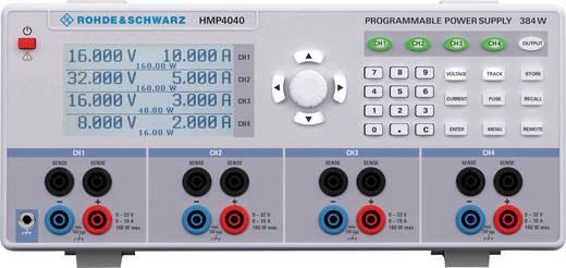 Labornetzgerät, einstellbar Rohde & Schwarz HMP4040 0 - 32 V/DC 0 - 10 A 384 W USB, RS-232, Schnittstelle optional progr