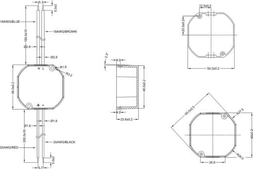 AC/DC-Einbaunetzteil TracoPower TIW 12-112 12 V/DC 1 A 12 W