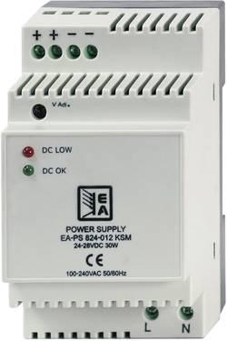 Sieťový zdroj na montážnu lištu (DIN lištu) EA Elektro-Automatik EA-PS 812-022 KSM, 1 x, 2.2 A, 30 W